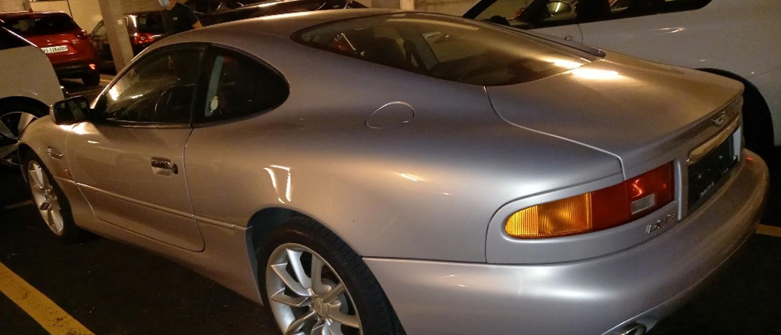 Aston Martin DB7 Vantage V12 Manual