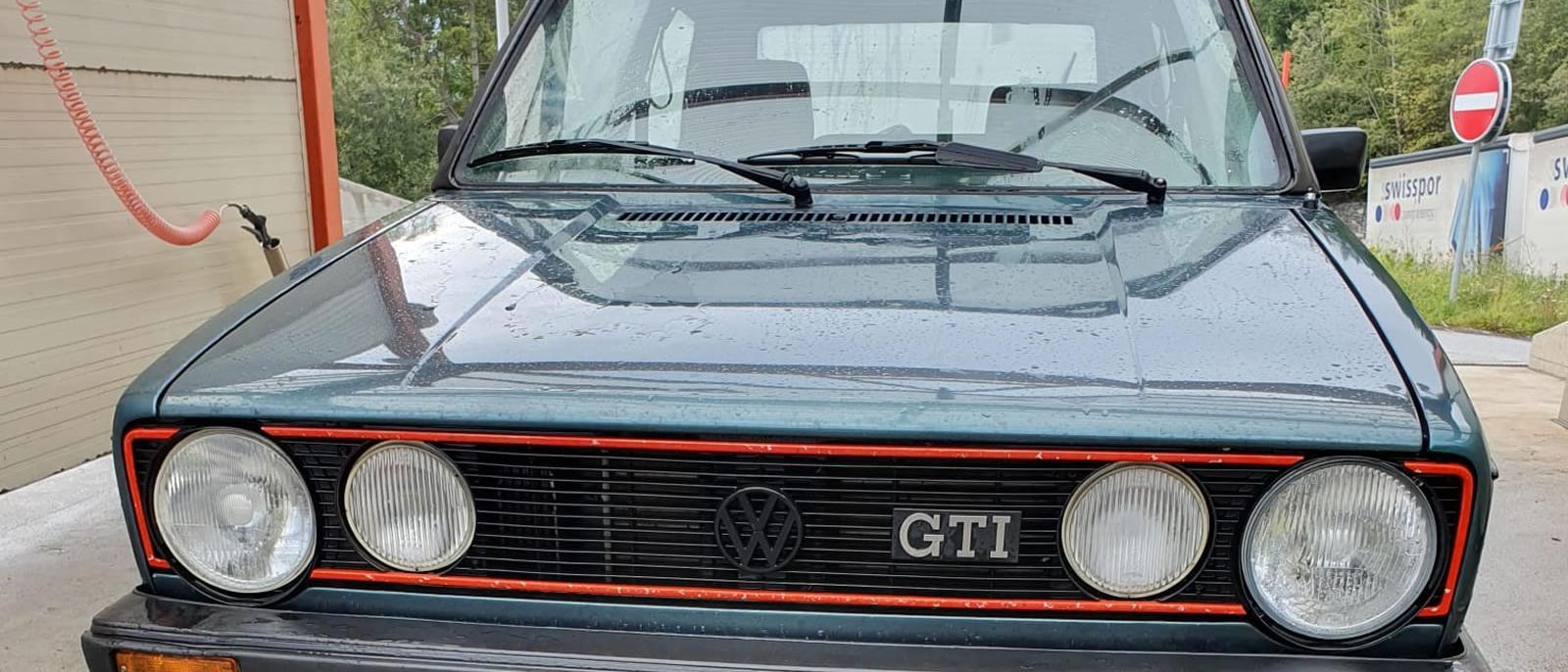 VW Golf 1 GTI 1800