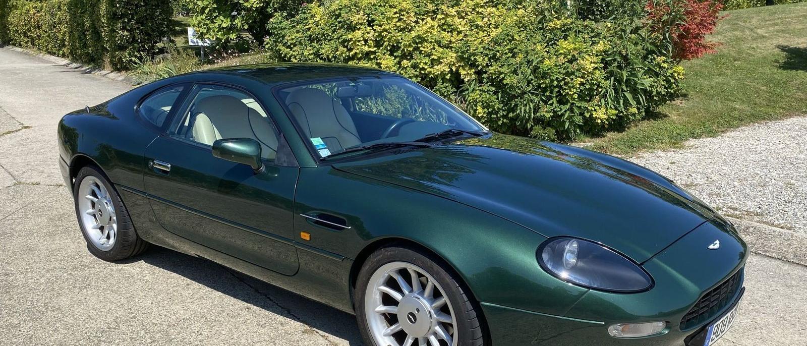 Aston Martin DB7 S/C Manual