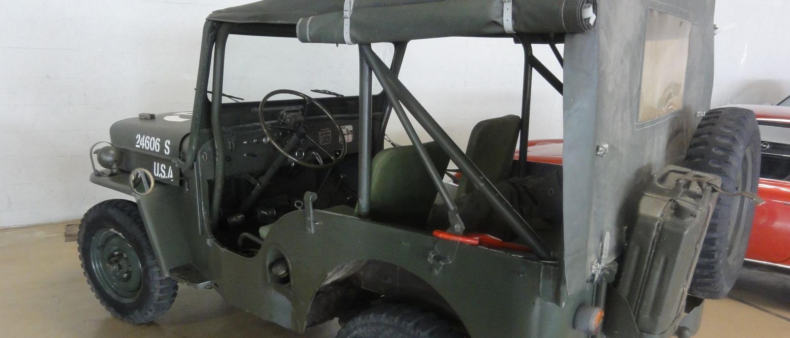 Jeep Willys CJ3 A