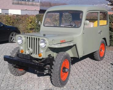 Jeep Willys CJ-3A Carrossée