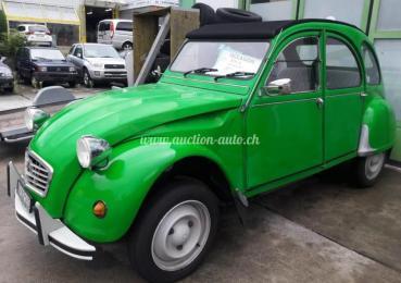 Citroën 2 CV Canard Vert