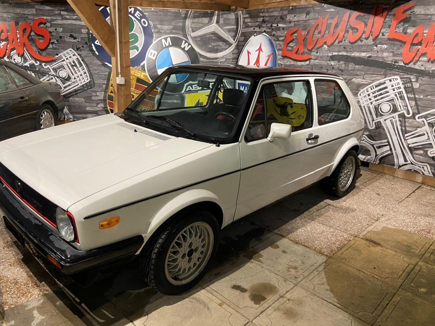 VW Golf 1 GTI 1600