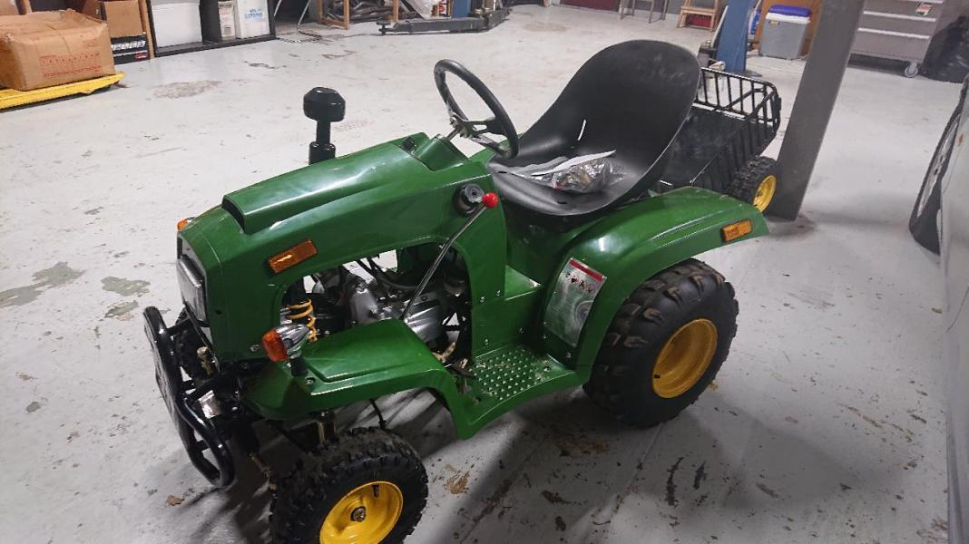 Mini-Tracteur Essence 107cc