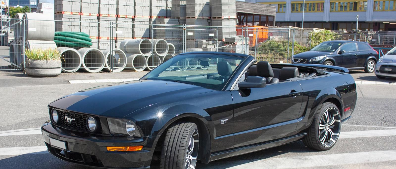 Ford Mustang GT Cabrio V8